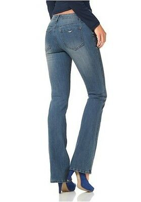Neu Arizona Bootcut Jeans Damen Bootcutjeans Bootcut Form