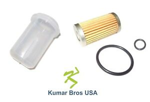 new mitsubishi satoh fuel filter with o ring \u0026 bowl mt20 mt1401 ebay