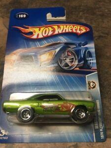 #169 2004 Hot Wheels Wastelanders 1970 Plymouth Road Runner Col .Com Version