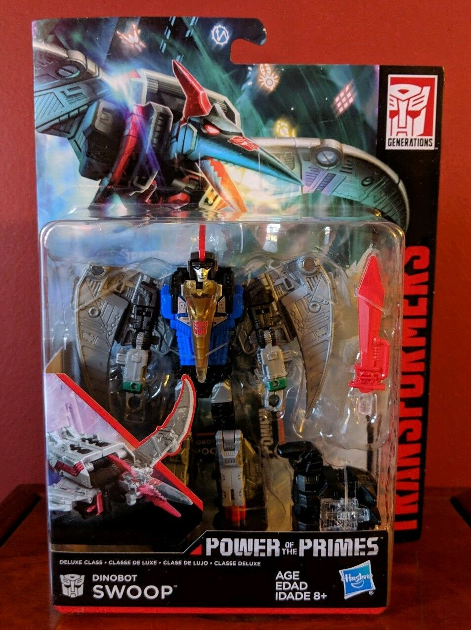 Transformers Power Of The Primes POTP Deluxe Class Dinobot SWOOP