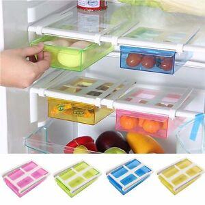 Pull-out-Drawer-Refrigerator-Shelf-Slide-Fridge-Storage-Rack-Kitchen-Holder