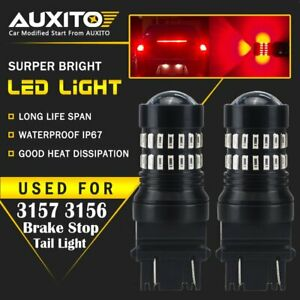 Details about 2X AUXITO Red 3157 3057 4157 LED Stop Brake Light Bulb for  Buick Jeep Cadillac