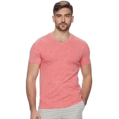 Marc Anthony Men/'s Slim Fit Short Sleeve V Neck Tee $24.00