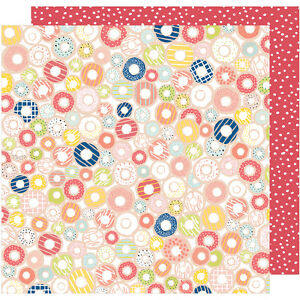 """Dear Lizzy Saturday Double-Sided Cardstock 12""""X12""""-Times Square"""