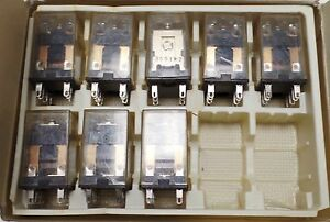 LOT OF 8 OMRON MY2 RELAY 24VDC