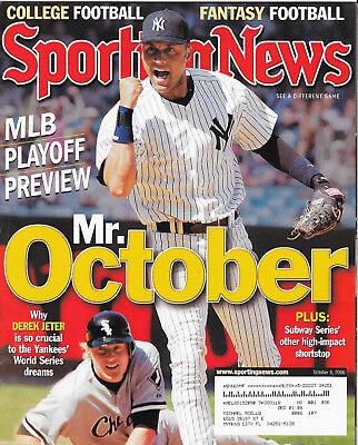 2009 Mariano Rivera New York Yankees Sports Illustrated October 5
