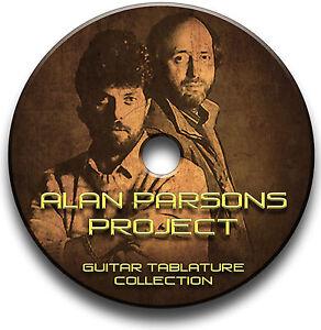 The Alan Parsons Projekt Rock Guitar Tab Tablature Lied BUCH Software CD