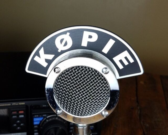 Vintage Astatic D104 Silver Eagle Cb Ham Radio Microphone Works Clean For Sale Online Ebay