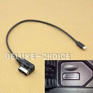 size 40 074ef 1ccf8 Detalles acerca de Cable adaptador de interfaz de audio Ami MMI MDI para  iPhone 5 7 Plus de 6 VW Vendedor de Estados Unidos- mostrar título original