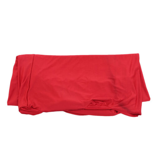 Wedding Cocktail Party Polyester Table Cover Decor Base Stretch Tablecloth