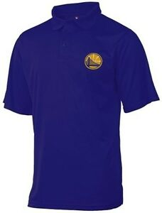 Golden state warriors moist management birdseye mens polo for Polo shirts tall sizes