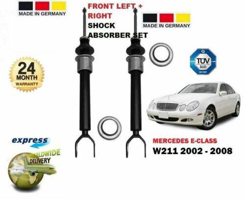 Pour Mercedes Classe E W211 2002-2008 2x avant Gauche Droit Amortisseur
