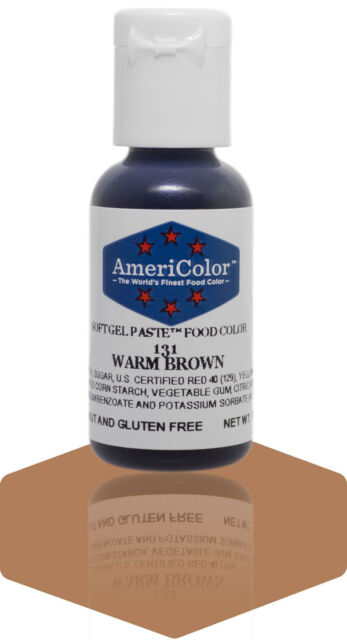 Americolor Soft Gel Paste Food Coloring .75 oz.