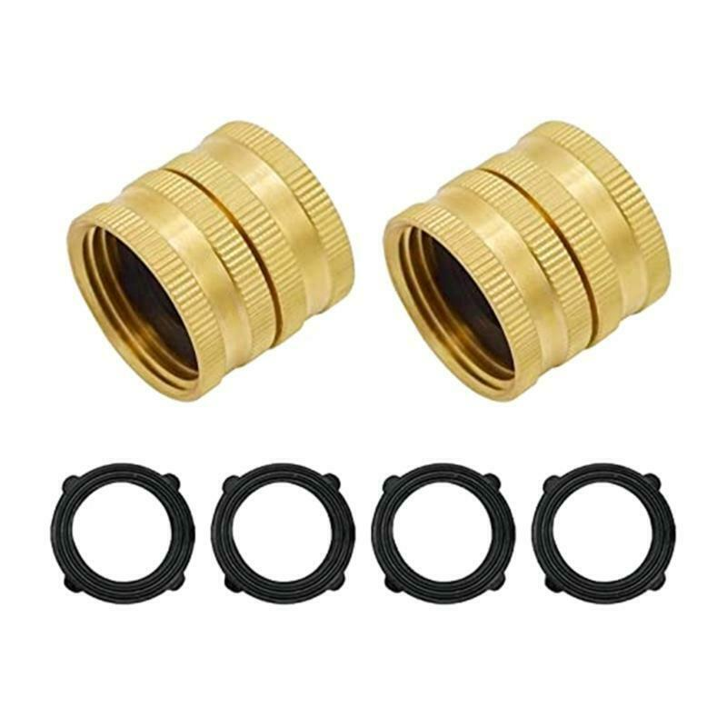 Two-way Female Female Connector Solid Brass Garden Hose Female-to-female Hose