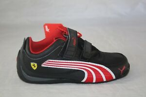 4fb0381aecc4 TODDLER PUMA DRIFT CAT 4 L SF NM V KIDS 304299-02 BLACK-ROSSO CORSA ...