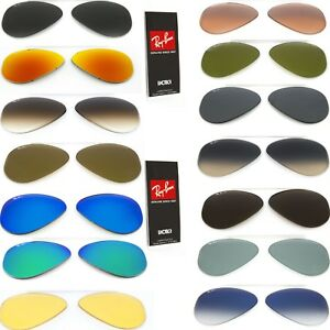 4d41047cc075 Image is loading Genuine-Replacement-lenses-Ray-Ban-aviator-3025-Classic-