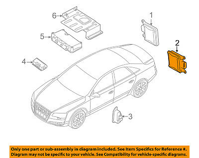 GM OEM Lane Departure Warning-Control Module 23393373
