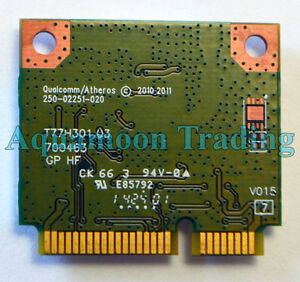 Details about Dell Inspiron 660 3420 3520 Vostro 2420 2520 AR5B125 Wireless  Card MXX0D DW1506