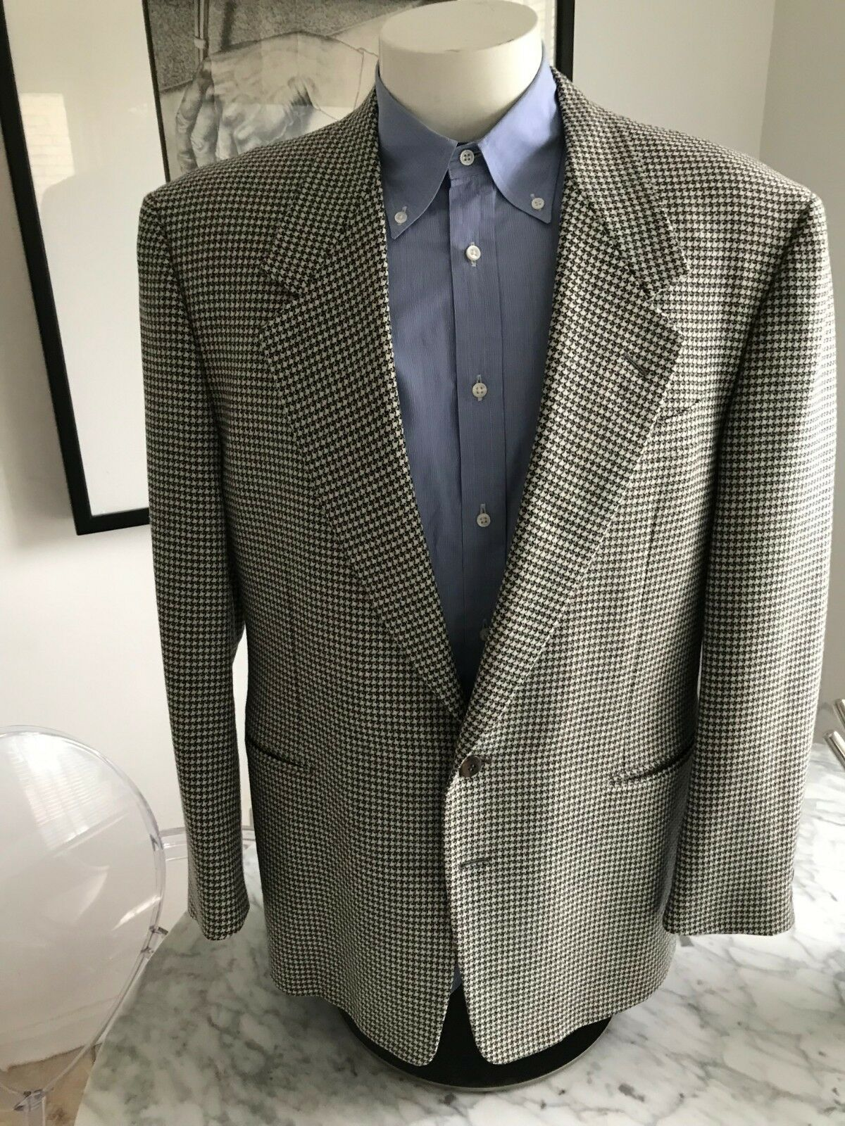 a224e0a09 Men's CANALI Recent Wool Cashmere Sport Coat. R US 42R. ITALY. Blend Label  nfyvdf7907-Suits & Tailoring