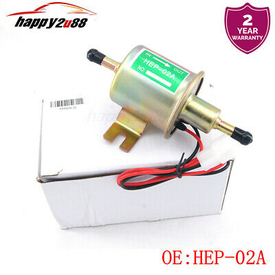 12V Fuel Pump Electric Gas Diesel Inline Low Pressure For Toyota Nissan Mazda US