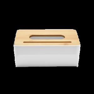 Tissue Box Holder Natural Bamboo Cover Napkin Holder Organizer Home Decor