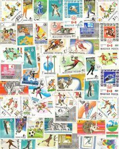 50 verschiedene Sport - Motiv - Briefmarken aus Ungarn - Wien, Österreich - 50 verschiedene Sport - Motiv - Briefmarken aus Ungarn - Wien, Österreich