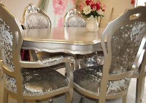 Absolutely Stunning Silver Glitz Shabby