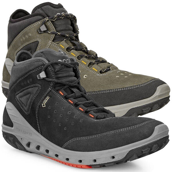 Ecco Biom Venture Mid GTX Men Herren Gore-Tex Schuhe Natural Motion 820734 Drak