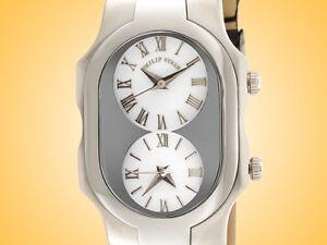 Philip-Stein-Teslar-Signature-Series-Stainless-Steel-Quartz-Ladies-Watch