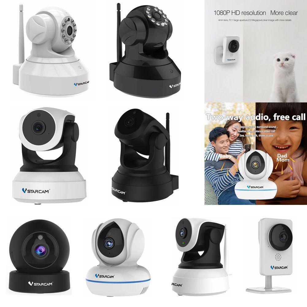 Vstarcam Inalámbrica Wifi IP Cámara 720P 1080P Ir-Cut Visión Nocturna Seguridad