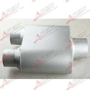 3-034-2-5-034-Single-Chamber-Performance-Race-Muffler-Silencer