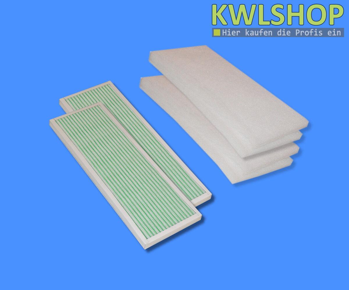 Kit de Filtres Wolf Cwl 300 400 avec Bypass,4 X G4 Mat, 2x F6 Pollen Mini