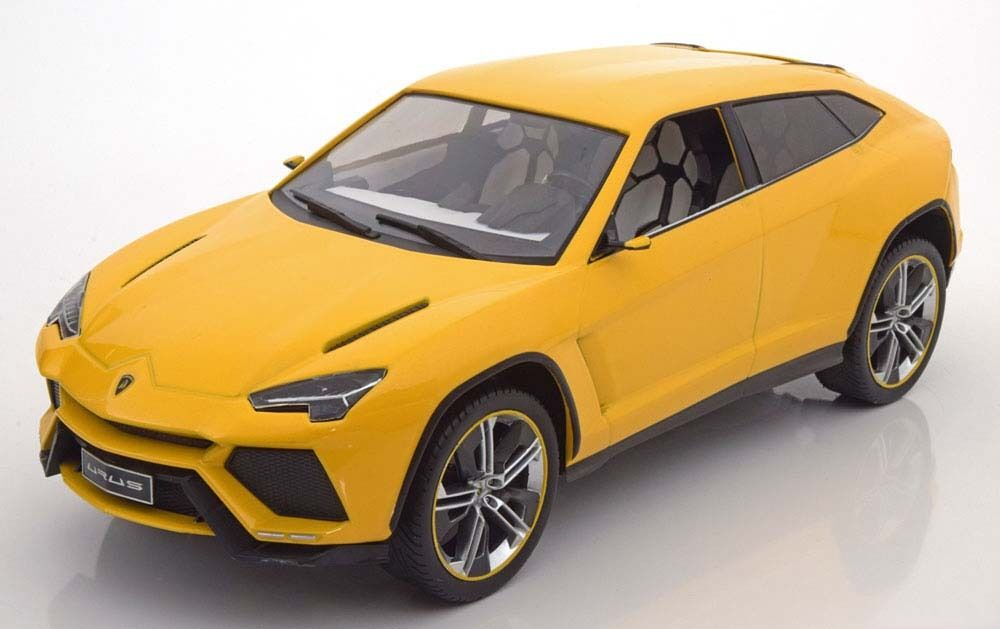 Mcg 2012 Lamborghini Urus giallo Coloree 1 18 Escala Nueva Versión en Stock