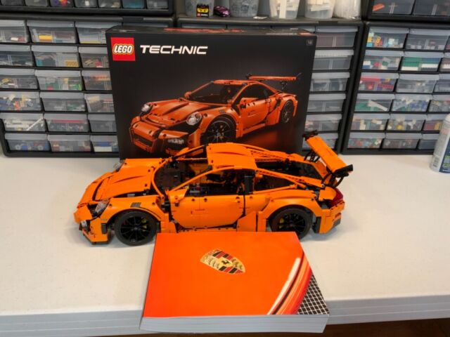 Lego Technic 42056 911 GT3 RS Porsche 100% complete with box/instructions!