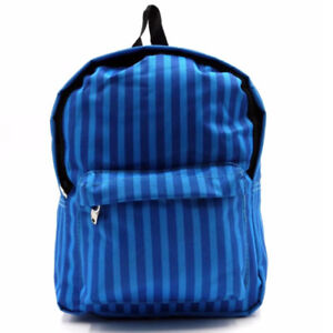 Everyday-Deal-Kimmy-Kiddie-School-Bag-Children-Printed-Backpack-Stripe-Blue-SL