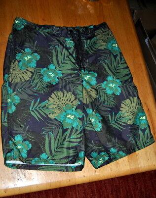 * Tcm Tchibo * Badehose * Boxershorts * Shorts * Grün * Blumen * M Eine VollstäNdige Palette Von Spezifikationen