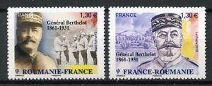 Francia-2018-estampillada-sin-montar-o-nunca-montada-WW1-primera-guerra-mundial-general-Berthelot