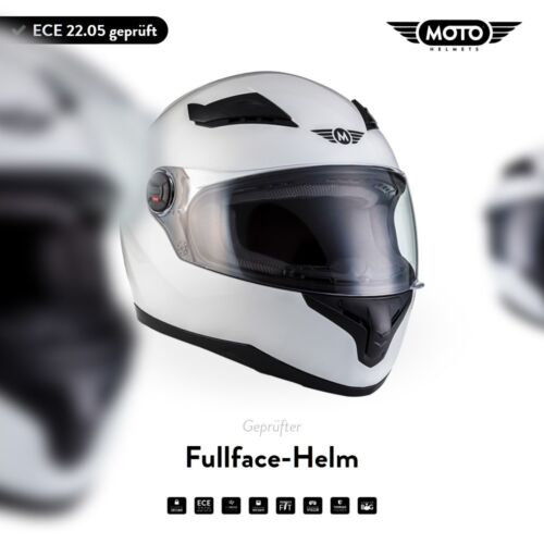CASCO MOTO-CASCO INTEGRALE ROLLER-ECE Casco scooter moto x86-WHITE XS S M L XL