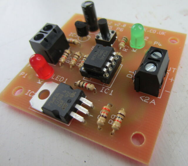 12V MINI PROGRAMMABLE LOW VOLTAGE DISCONNECT (LVD). PROTECT YOUR BATTERIES.