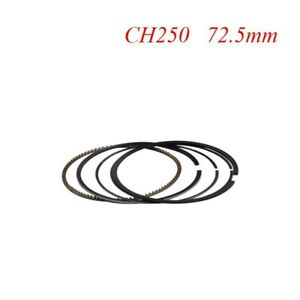 For-Honda-CH250-Oversize-Bore-Size-72-5mm-Motorbike-Parts-Piston-Rings-Set-New