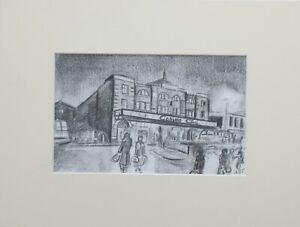 Northern-Soul-034-Wigan-Casino-1975-034-a-Northern-Soul-Art-Original-Pencil-Sketch