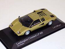 1/43 Minichamps Lamborghini Countach LP 400  in Gold