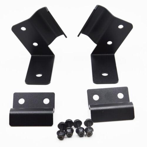 For 14-19 POLARIS RANGER 570 XP900 Side Pillar Light Bar Bracket Set+Rocker Wire