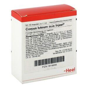 HEEL Corpus Luteum Suis   10 amps Homeopathic Remedies