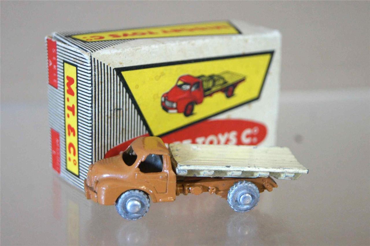 Midget Toys Co 1 Series A Way Garçons les Routiers Haut Plat Camion Mat Beige
