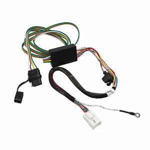 details about 4 pin trailer wiring harness for select subaru forester, outback, xv crosstrek  accessories custom wiring harness