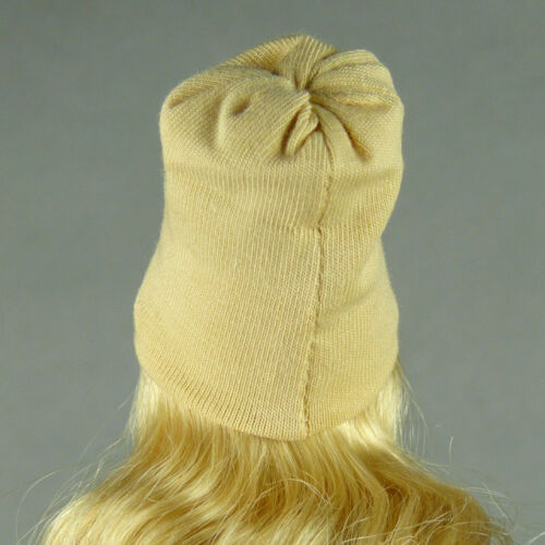 1//6 Scale Phicen Vogue Cy Hot Toys Kumik Play Toy Female Beige Beanie Hat