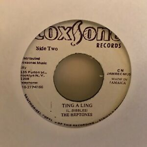 THE-HEPTONES-7-034-VINYL-SINGLE-TING-A-LING