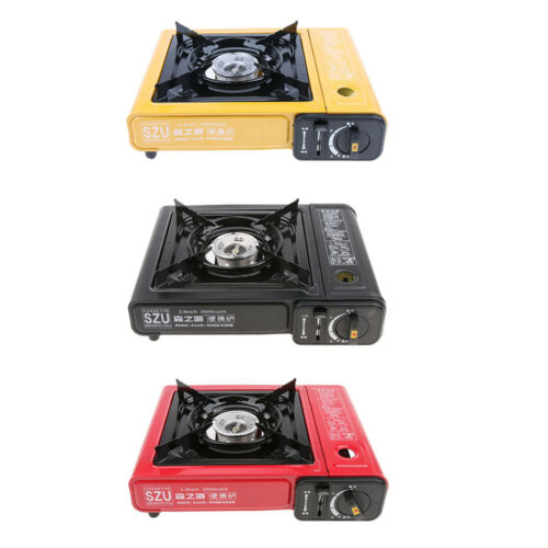 Portable Cooker Gas Stove Propane Butane Burner Outdoor Camping Hiking Cook