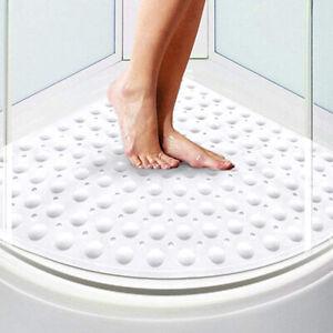 Shower Mat Non Slip Sector Rubber Corner Anti Mould Quadrant Bath